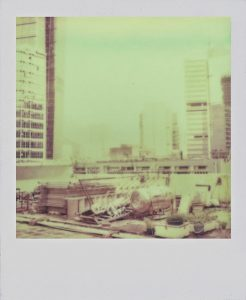 yellow polaroid film
