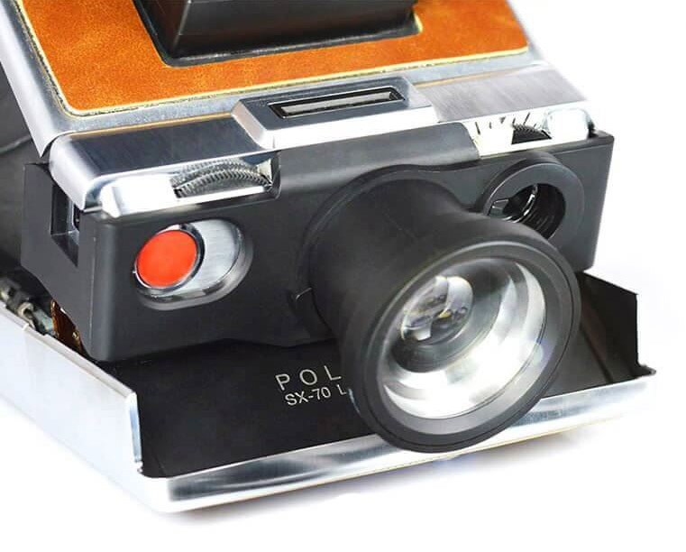 SX70 with lens holder
