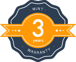 3 years Warranty & Guarantee