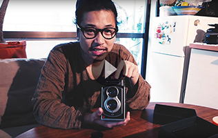 The Mijonju Show - Unboxing the TL70 Twin Lens reflex Instant film Camera!