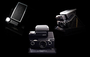 MiNT's SLR670-S Noir is the Polaroid You've Dreamed Of