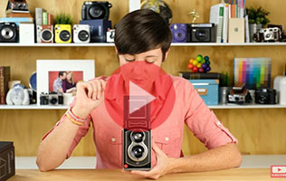 InstantFlex TL70 Unboxing! The worlds only twin lens reflex instant camera!