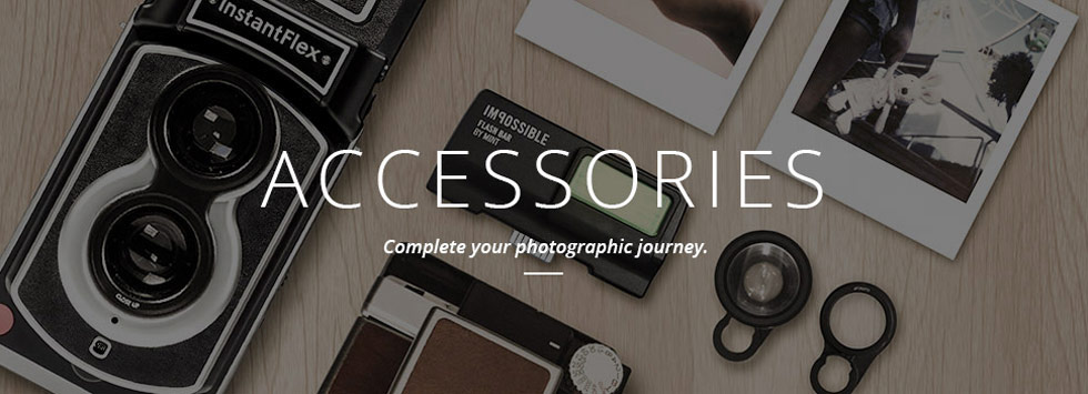 Shop Vintage Polaroid Camera Accessories | MiNT Camera