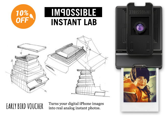 [new camera] Click & share with Impossible Instant lab