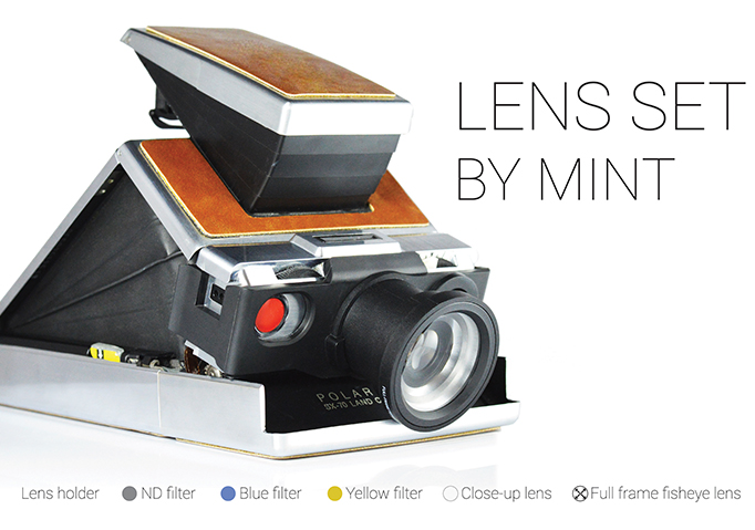 Mint Lens Set - power up your Polaroid SX-70 camera now!