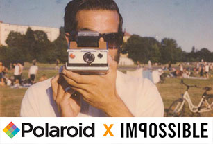Let's celebrate the merger of Polaroid and Impossible!