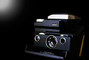 Why is this Polaroid camera so special? SLR670-S Noir