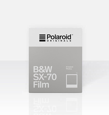 B&W Film for SX-70 White Frame by Polaroid Originals