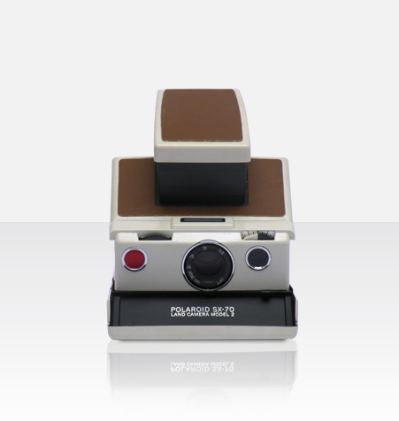 Polaroid SX-70 Model 2 White (Brown) Camera Ultimate Package