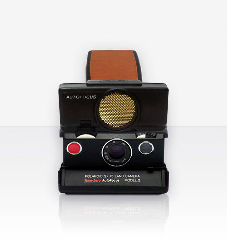 Polaroid SX-70 Sonar Camera (Brown)