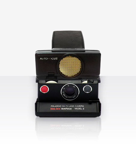 Polaroid SX-70 Sonar Camera (Black)
