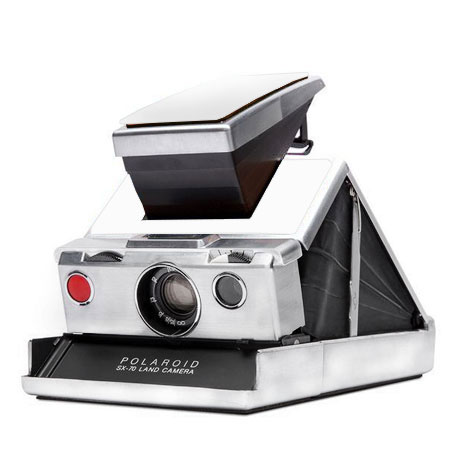 Polaroid SX-70 Original (White) Camera Ultimate Package
