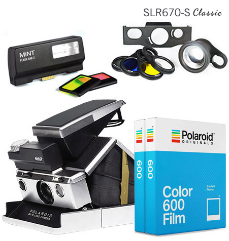 SLR670-S Classic Black Ultimate Package