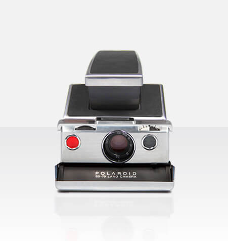 Polaroid SX-70 Original (Black) Camera Ultimate Package