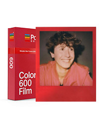 Color Film for 600 Metallic Red Edition