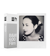B&W Film for 600 White Frame