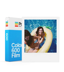 Color Film for 600 White Frame
