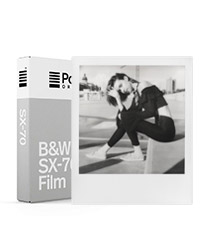 B&W Film for SX-70 White Frame