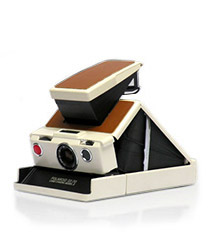 Polaroid SX-70 Model 2 White Camera