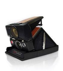 Polaroid SX-70 Sonar Black Camera