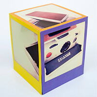Old Polaroid Camera SX70 Cube - From 2D to 3D by Ritchard Ton