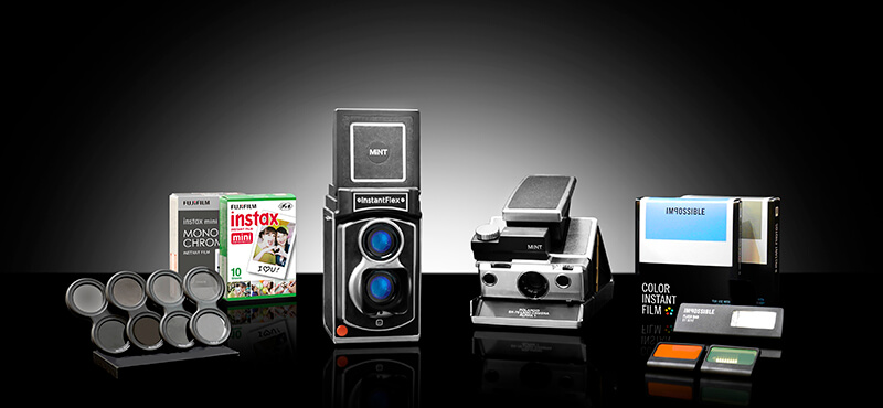 Get your InstantFlex TL70 2.0 and SLR670-S Vintage Polaroid Camera