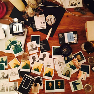 Polaroid instant film cameras and photos
