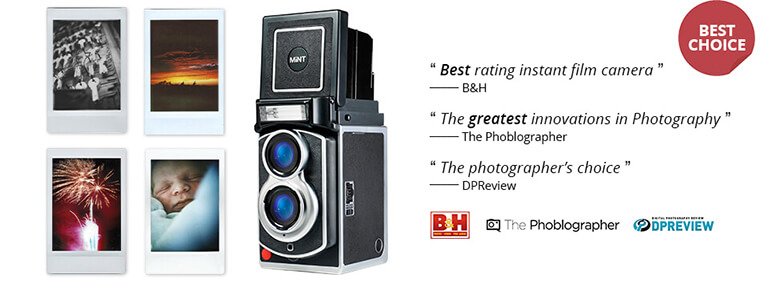 Reviews of InstantFlex TL70 instant film camera