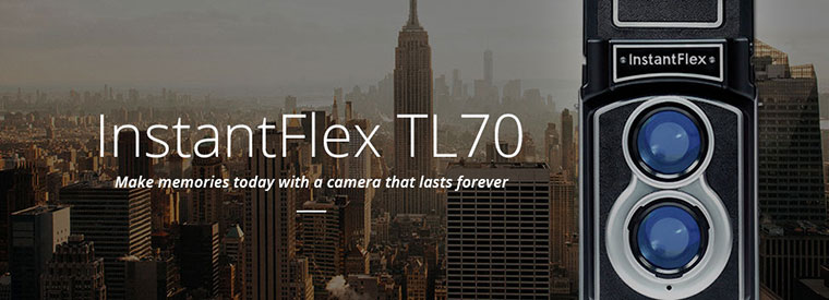 Make memories today with a camera that lasts forever