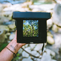 Travelling with InstantFlex TL70 instant film camera