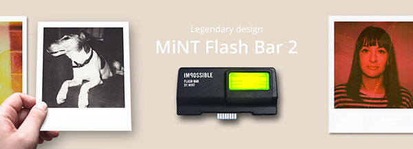 Mint Flash Bar 2 for Vintage Polaroid Cameras